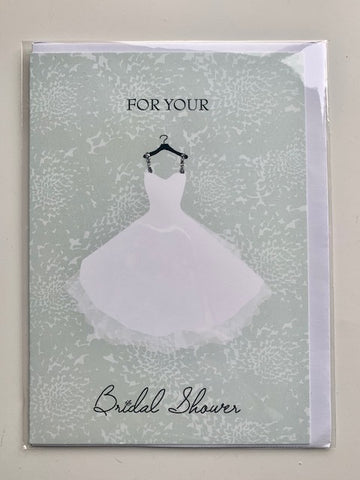 'For Your Bridal Shower' Card
