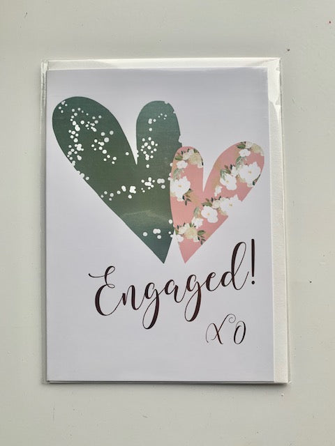 'Engaged! XO' Card