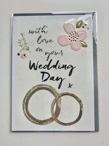 'With Love On Your Wedding Day' Card