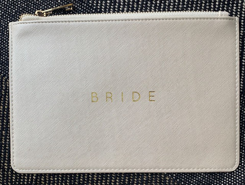 Bride Hold Everything Pouch