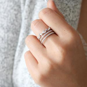 Statement Grey - Lueur Ring