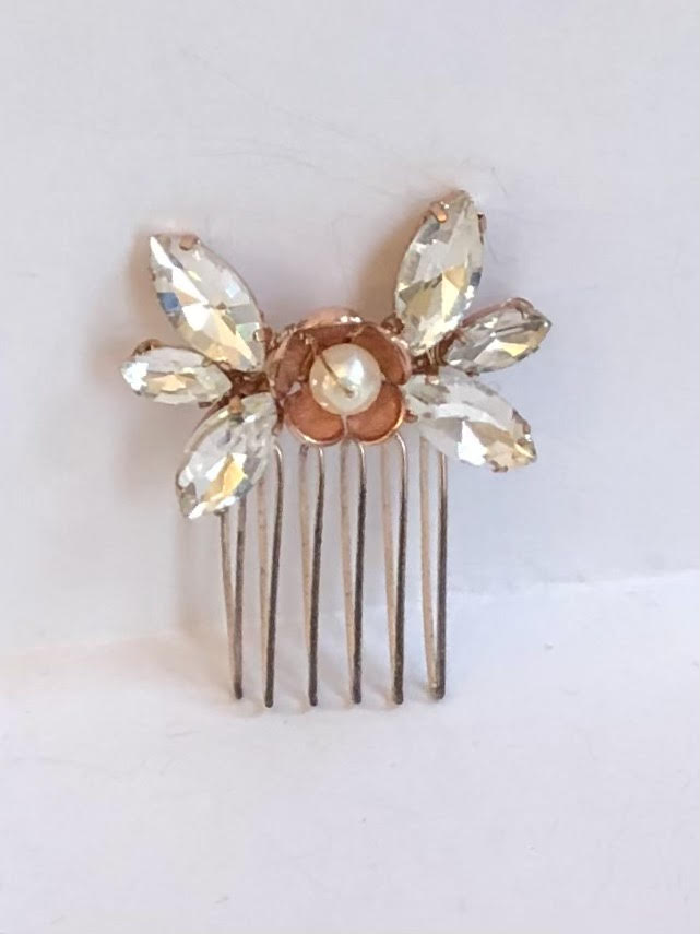 Abigail Comb Rose Gold