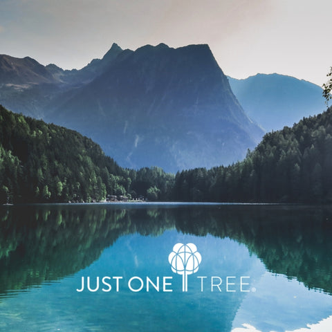 Sustainability we partner with Just One Tree