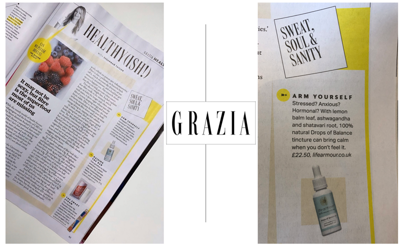 grazia coverage