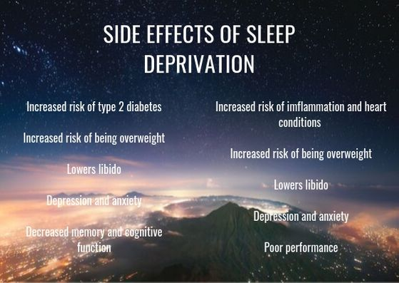 side effects of sleep deprivation