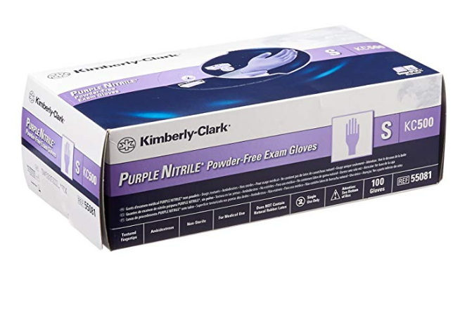Kimberly Powder Free Examination Hand Gloves