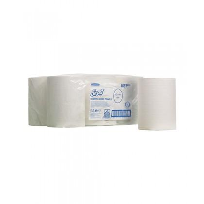 Slim Towel Roll( 1 Carton of 6 Rolls)