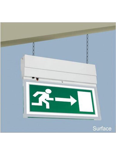 Sleek Exit / Egress (Edgelit) Lights