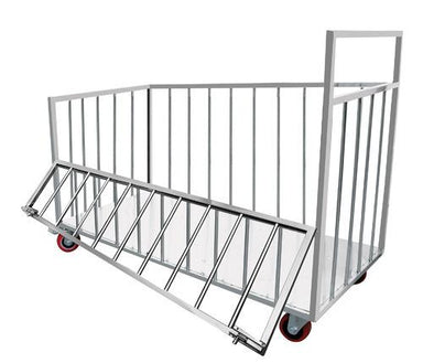 Stainless Steel Utility Trolley