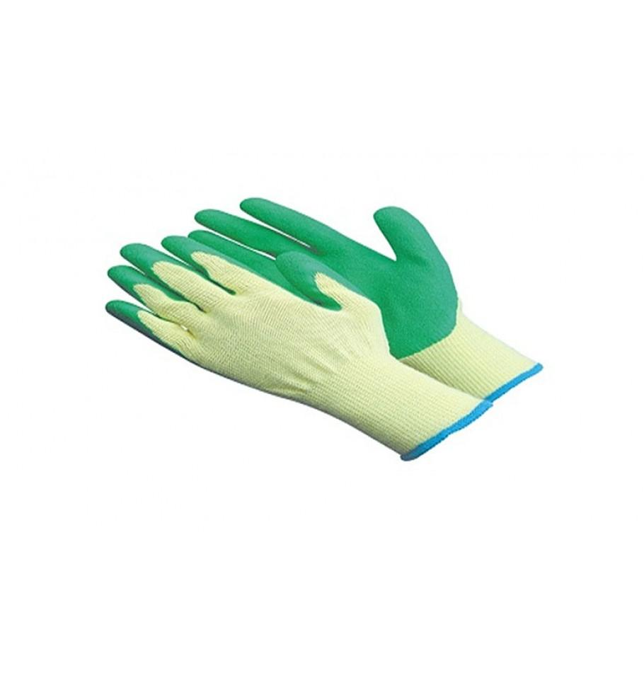 Cut resistant knitted handgloves