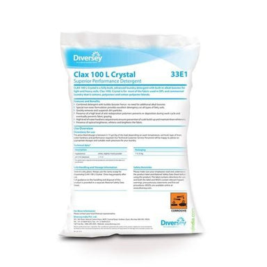 Laundry Powders CLAX 100L CRYSTAL (Pack Of 25kg )