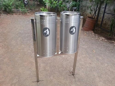 Duo Pole Bin 100 Ltr Capacity without hood