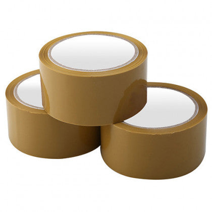 Brown Bopp Tape 24mm x 35mtr