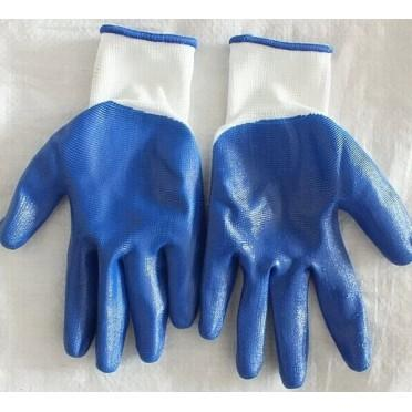Full dip nitrile coated hand gloves