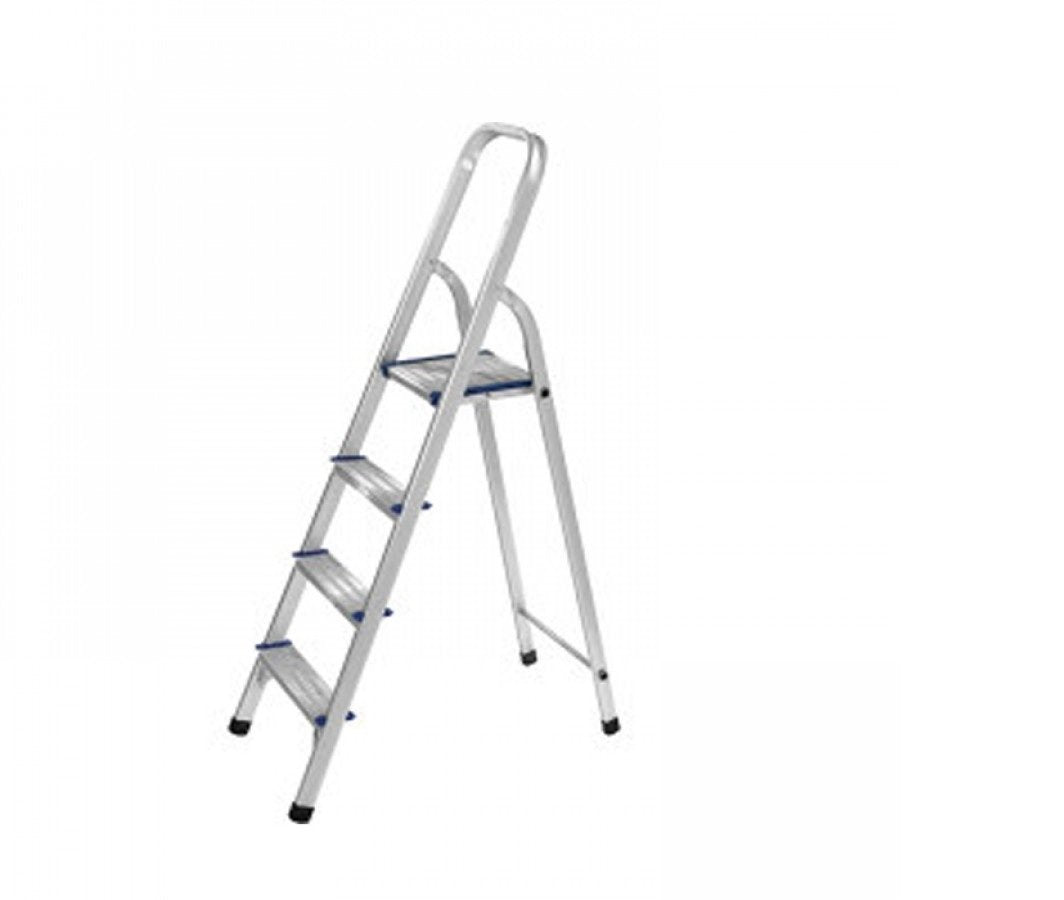 Aluminium  Folding Platform Step Ladder 4 Steps 5 Feet