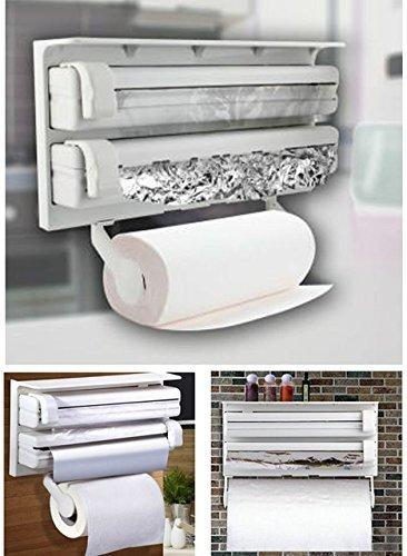 Triple Paper Roll Dispenser