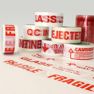 Pre-Printed Message Tape - 48 mm - 72 rolls