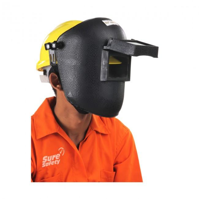 Welding Face Shield for Tough Hat Helmet