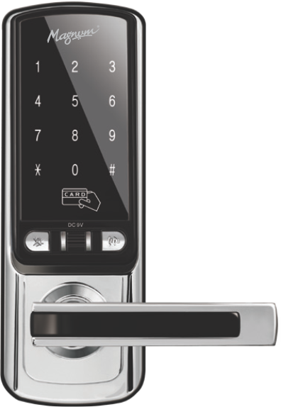 Card Lock 8043DL 3 in 1