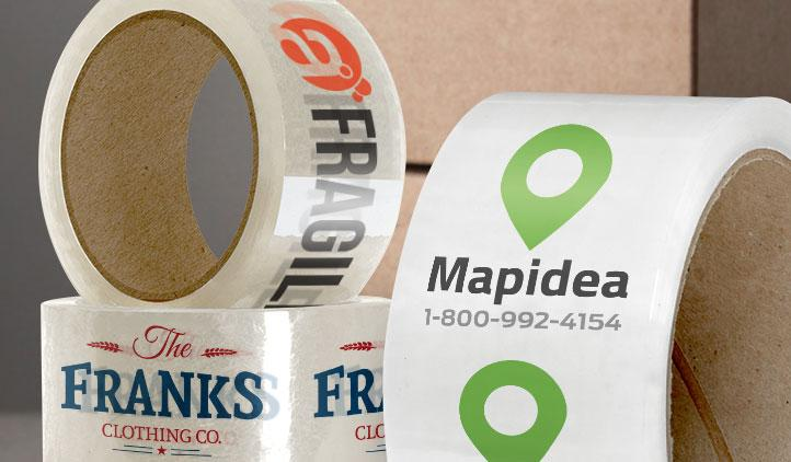 Customized Tape - 2 color with Company logo -
