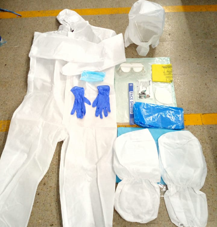 FULL SITRA CERTIFIED PPE KIT
