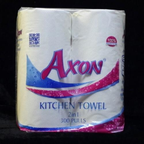 AXON Kitchen Roll 2IN1 2PLY 300Pulls (PACK OF 20)