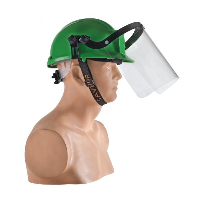 Clear Face Shield for Tough Hat Helmet