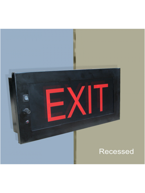 Auditorium Series Exit Light