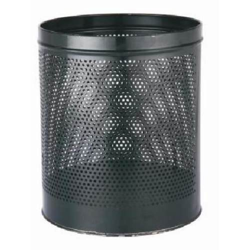 Mild steel coated perforated bin