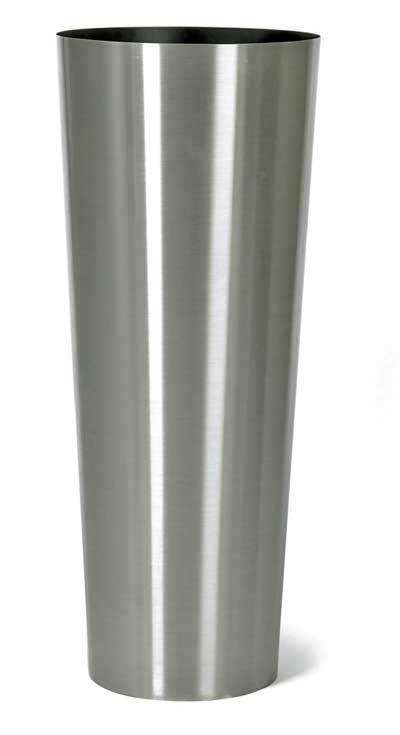 Stainless steel tall planters