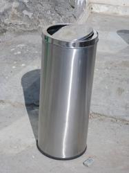 Stainless steel small swing bin