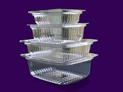 250 ml Deli Trays With Lid-RPVC