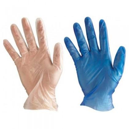 Vinyl Powder Free Examination Hand Gloves