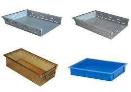 Pharmaceutical Crates Autoclave Tray Regular Jali