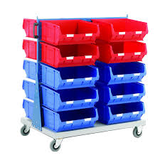 Double sided trolley for Warehouse Bins-ARSS-3