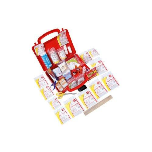 First Aid Workplace Kit  Medium - Plastic Box Wall Mounted - 110 Components