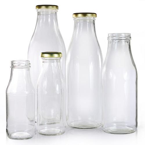 Milk & Juice Glass Bottles