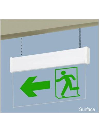 Sleek Exit / Egress Lights Signs