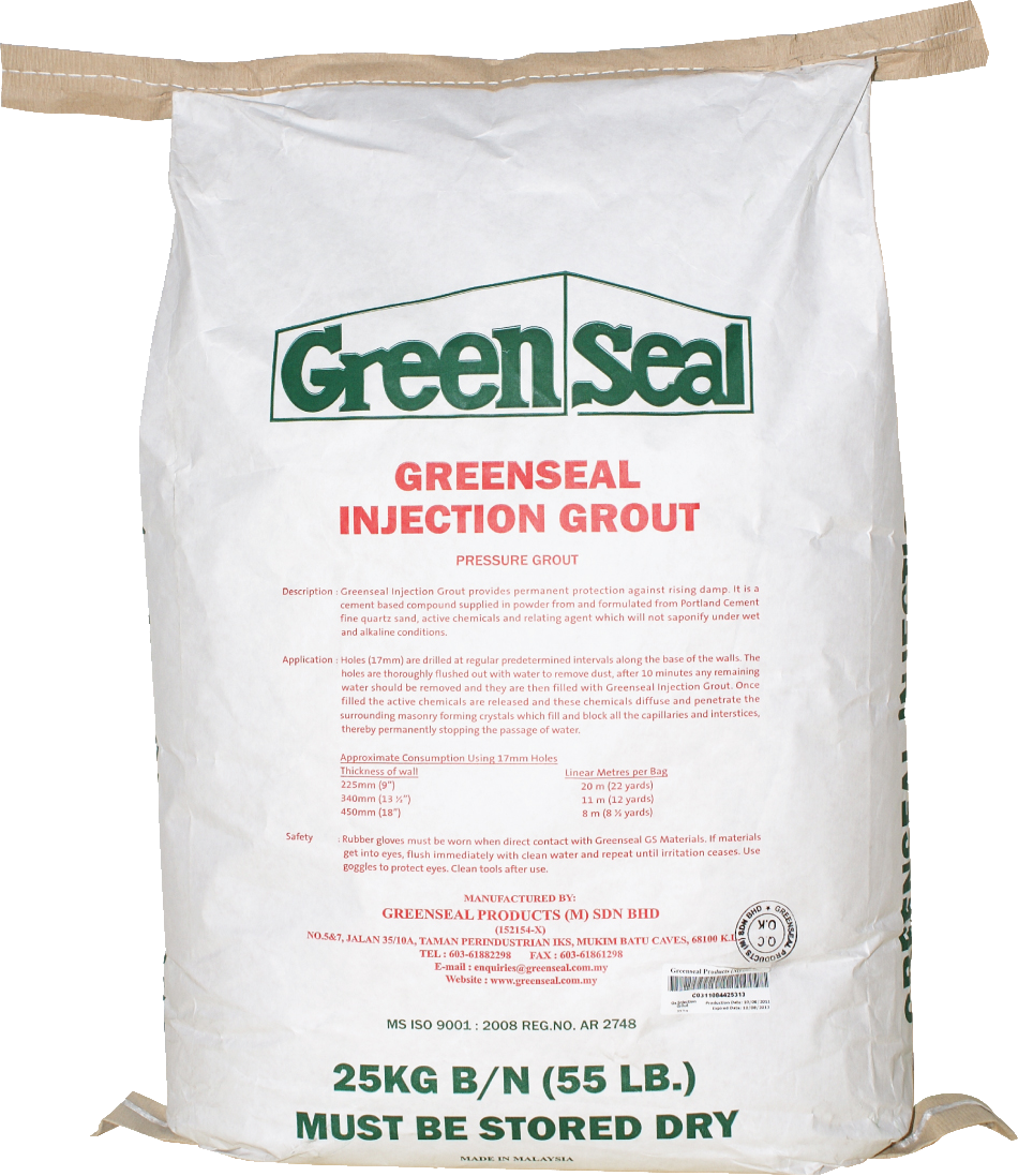 Greenseal Injection Grout