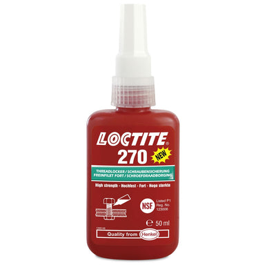 Loctite 270 High Strength Threadlocker 50 mL
