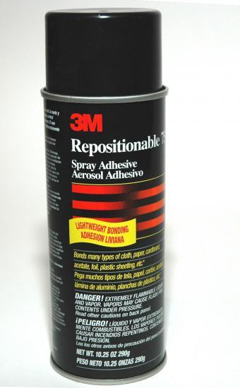 3M (Post-aid) Repositionable Adhesive (pack of 3)