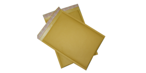 Kraft bubble envelope