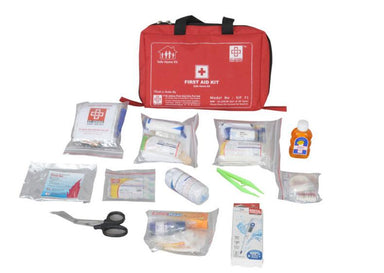 First Aid Family Kit Small- Nylon 6 Pocket Bag-79 components