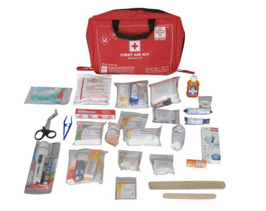 First Aid Family Kit Large- Nylon 8 Pocket Bag-138 components