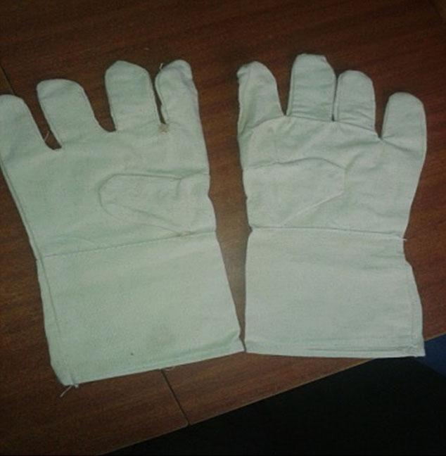 Cotton Canvas Handgloves