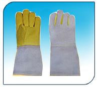 Kevlar/Para Aramid Palm Leather Hand gloves (PACK OF 25 PAIR)