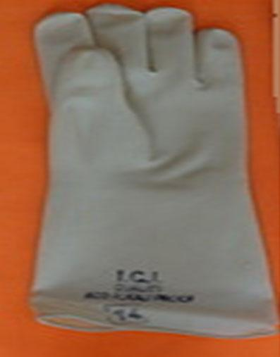 Acid Alkali Proof rubber handgloves