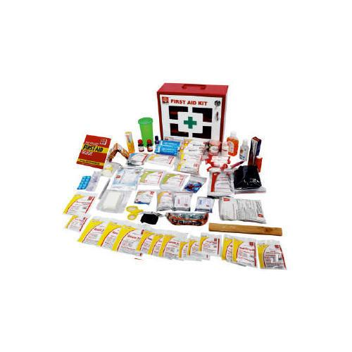 Industrial first aid kit- Medium metal box, wall mounted with acrylic door Refill