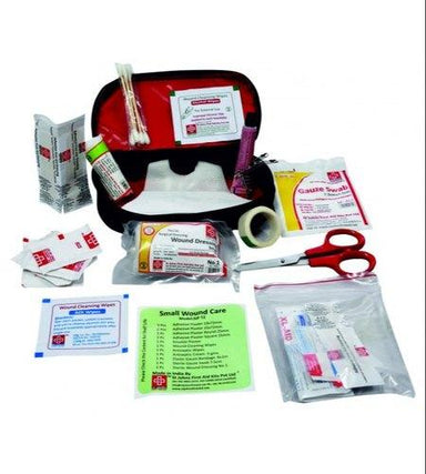 First Aid Travel Kit  Small - Nylon Pouch - 33 Components