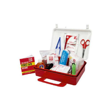 First Aid Workplace Kit Large-Plastic Box Wall Mounted- 77 components
